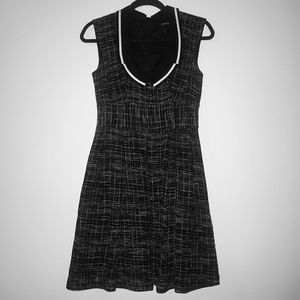 Nanette Lepore tweed dress with pockets and collar